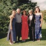 Left to Right:  Jennifer, Me, Pam, Jim Barnett, Angela