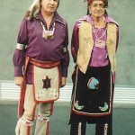 Left:  Chief Oren Lyons              He is Faithkeeper of the Turtle Clan, Onondaga Nation, Haudenosaunee ( Six Nations Iroquois Confederacy).  Right:  Chief Leon Shenandoah  Leon was the Fire Keeper for the Haudenosaunee.  He held the very sacred and ancient title.....Tadodaho